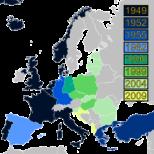 Mapa da história da NATO