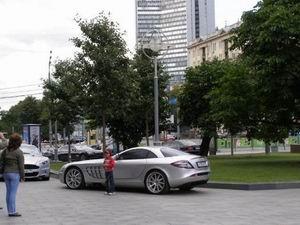 Moscovo - frota automóvel de luxo