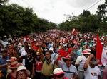 Povo Hondurenho manifesta-se massivamente contra o golpe de estado