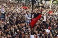 Tunísia - Manifestação